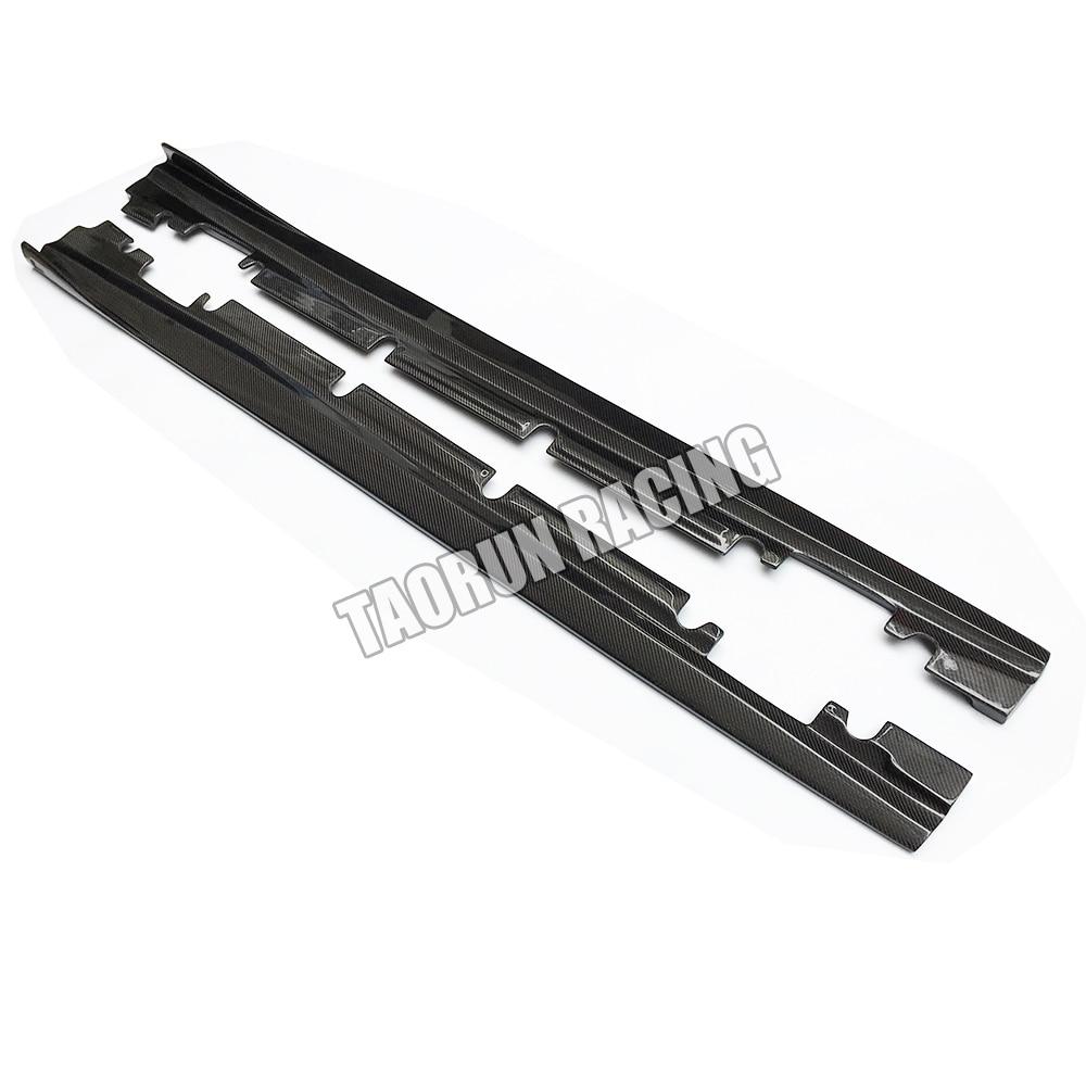 Cla 45 & A45 Saia Lateral em Fibra de Carbono Real para Bezn W176 - Peças auto - Foto 3