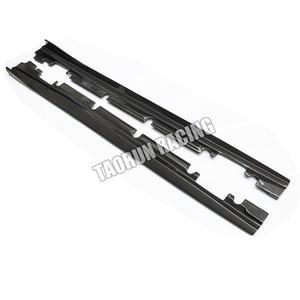 Faldas laterales de fibra de carbono alerón para Benz W176 Clase A A180 A200 A260 A45 y W117 CLA200 CLA220 CLA260 CLA45