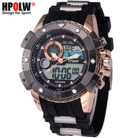 HPOLW Men Military Sports Watches Digital LED G Style Electronic Wrist Watches Waterproof Male Shock Clock