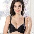 Push up bra menina jovem e sexy feminino intimates mulheres bras roupa interior lingerie sutiã sem costura uma peça respirável novo