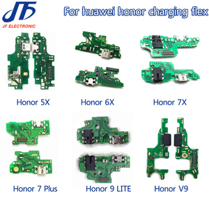 Image 2 - 10pcs USB Charging For Huawei Honor 5x 5c 6x 7x 8 9 lite 10 lite V9 10 v20 note 8 note 10 Charger Port Dock Connector Flex Cable