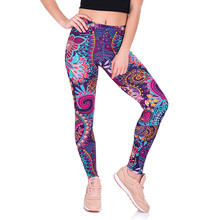 f28c56328 Womail leggins sport fitness yoga pants Women high waist Printed Yoga Fitness  Leggings Gym Stretch Sports