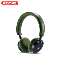 Original Remax RB 300HB Bluetooth Headphone Soft Ear Pads Bilateral Stereo 10M Headset For Iphone Mobile