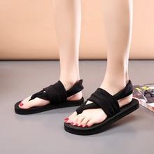New 2018 Women Flip Flops Summer shoes Beach Slippers women Bohemia style Sweet Flat sandals Size 35 - 39