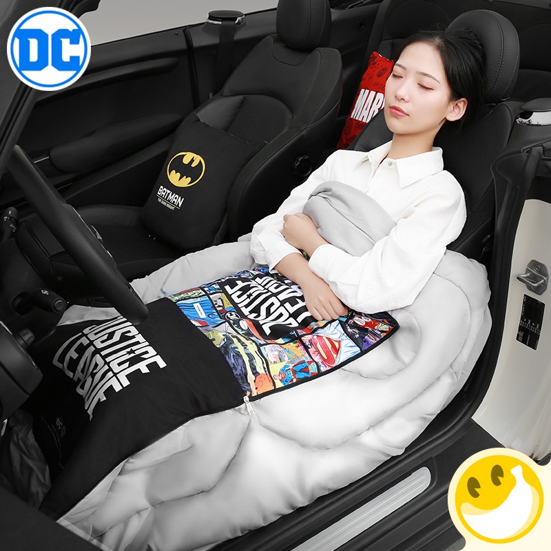 Justice Alliance Theme Batman style Car Cushion Blanket PillowsAir conditioning Quilt Pillow quilt dual purpose