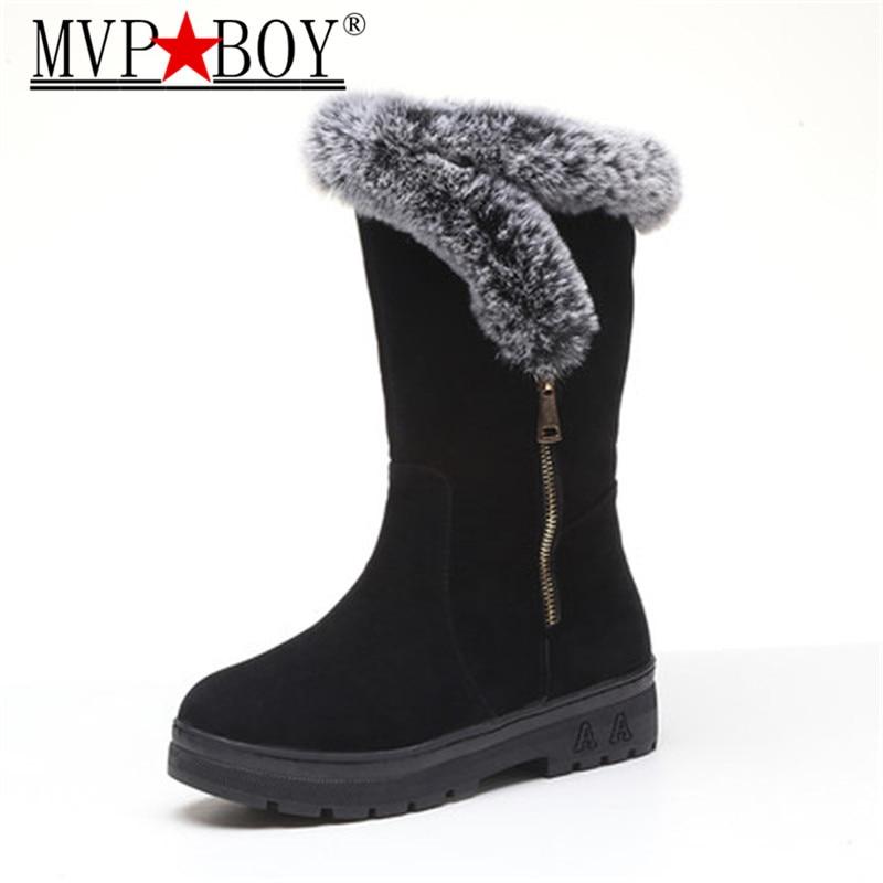 9375369a7 Menino Inverno Quente Altas Usar vermelho calf Menina Tamanho Quentes Da  Fácil 40 Botas Mulheres De Preto Feminino Sapatos Mvp ...
