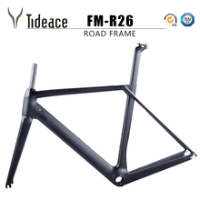2018 NEW Chinese Carbon Road Frame T800 UD black Aero full carbon fiber road bike frame QR or thru axle 47/49/51/53/55cm