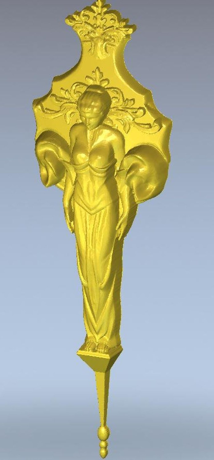 3d model relief  for cnc in STL file format girl pendulum icon of the mother of god undying color 3d model relief figure stl format religion 3d model relief for cnc in stl file format