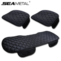 3Pcs Car Seat Cover Cushion Universal Auto Winter Soft Warm Seats Cushions Automobile In Cars Chair