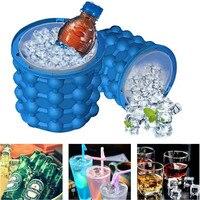 Yeni Uzay Tasarruf Buz Küpleri Maker Soğuk Tutmak Şişeleri Buz Genie Paty Araçları Irlde Genie Dondurma Küvetler Içecek Tutucusu şişeler