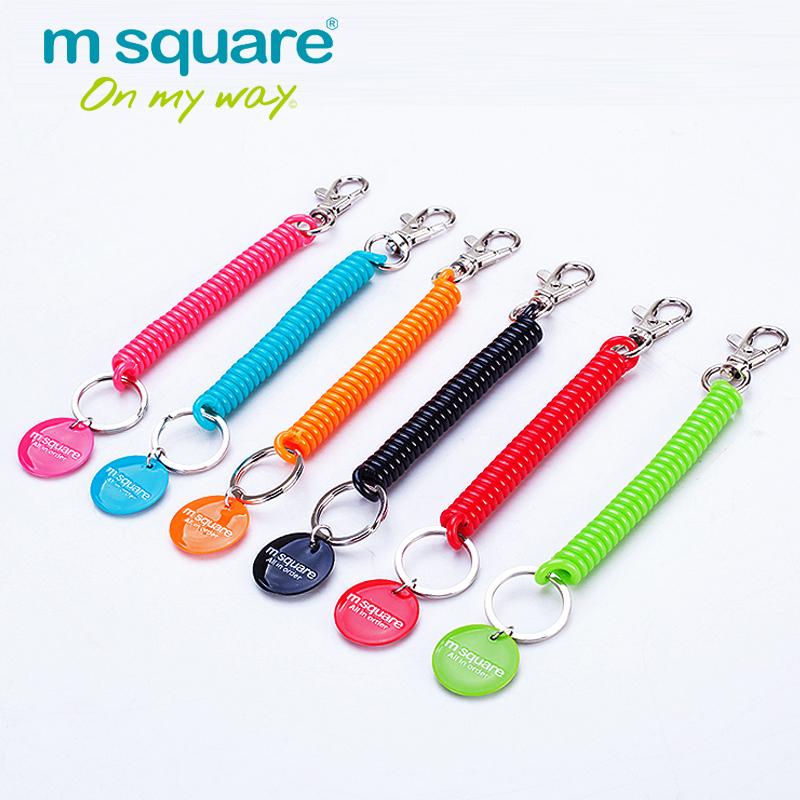 M Square Travel Accessories For Lanyard Keychain Anti Lost Portafoglio Phone Strap Portachiavi Portachiavi