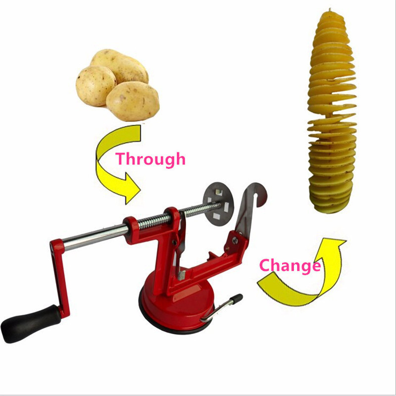 Environmental Clean High-quality stainless steel Manually sweet potatoes machine / potato slicer New kitchen tool  Wholesale