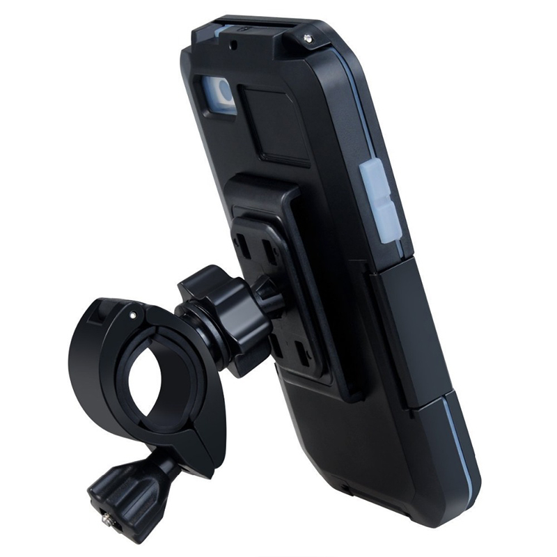 Image 2 - Bicycle Motorcycle Phone Holder For iPhone X 7 8 Plus Waterproof Telephone Support For Moto Stand Bag Bike Cover Mobile phonePhone Holders & Stands   -