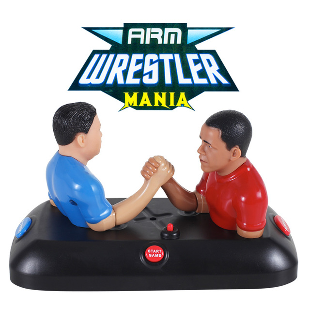 arm wrestler mania funny gadget Adult Men's Duel Obama VS Kim Jeong-eun finger novelty toys for children game anti stress Gifts