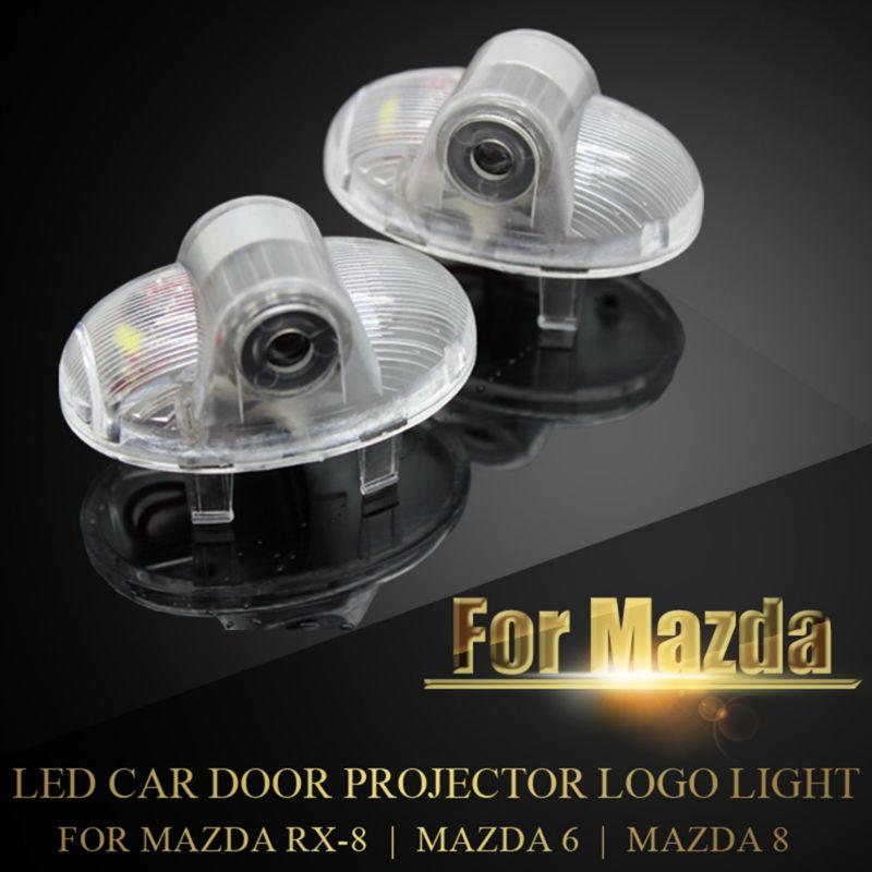 Mazda 8 Mazda 6 Mazda RX8 RX-8 Simsiz Ghost kölgə salamlama üçün - Avtomobil işıqları - Fotoqrafiya 1
