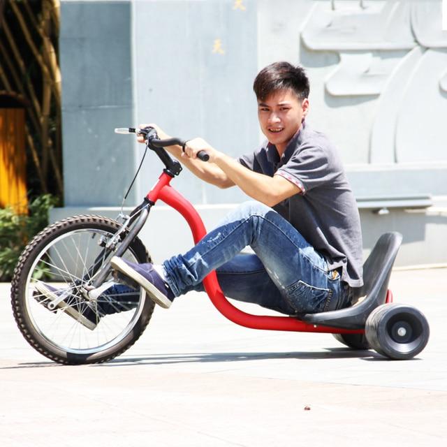 Deriva Trike triciclo para Adultos, 16 \'\'de la Rueda Delantera, Fram ...