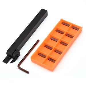 Image 1 - 10 sztuk MGMN200 G węglika wkładki wysokiej twardości frez + 1pc MGEHR1212 2 tokarka CNC uchwyt do toczenia 12*12*100mm wytaczadło