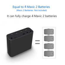 Mavic 2 Battery Power Bank 48000mAh Capacity For DJI Mavic 2 Pro&Zoom Remote Control Battery Smartphone Charger Outdoor Charging цена и фото