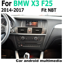 Car Android original style For BMW X3 F25 2014-2017 NBT GPS Navigation radio stereo multimedia player DSP HD touch screen цена