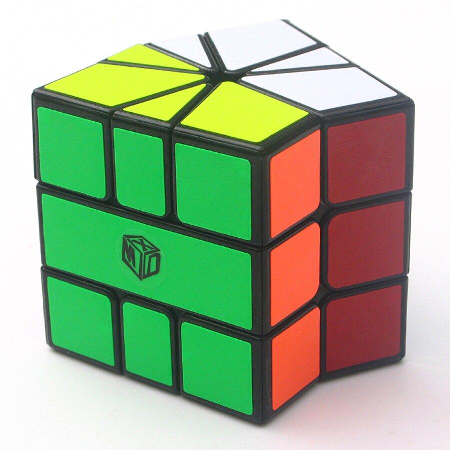 Qiyi Sq 1 Sector Magic Cube 3x3 Strange Shape Magico Cubo