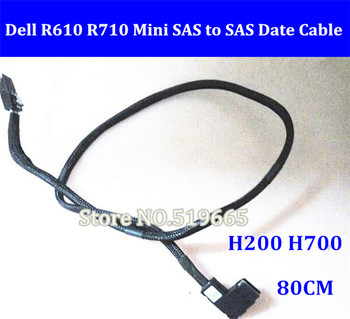 Original R610 R710 Mini SAS to SAS Date Cable for DELL H200 H700 Raid RAID card 70CM image