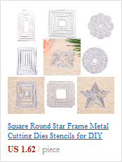 Hollow Out Lattice Cutting Dies Frame for DIY Scrapbooking Decorative WST
