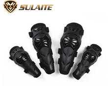 SULAITE Motorcycle Riding Knee Pads And Elbow Protector Outdoor Protective Gear Accessorie Motocross Racing Knee Protector Guard motorcycle protection motorcycle knee pads protector moto racing protective gear pro biker p03 motocross knee protector