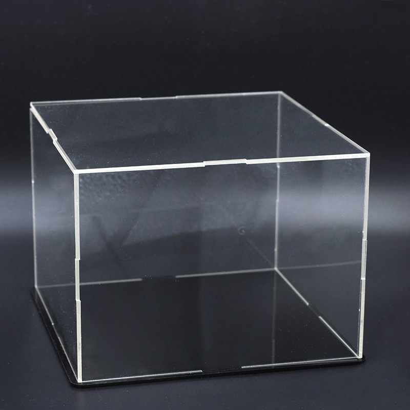 Transparent Acrylic Display Box Dust Box Dust Cover 3D Metal Puzzle Tools For DIY Laser Cut Assemble Jigsaw Toys (only Box)