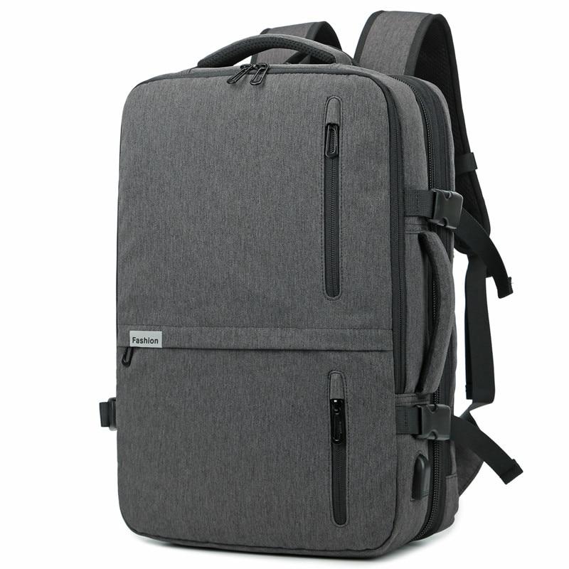 Backpack Men New Business Multifunctional USB Charging 17 3 Inch Laptop Backpack Bolsa Mochila Waterproof Travel