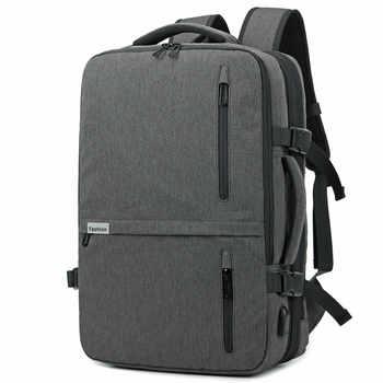 Backpack Men New Business Multifunctional USB Charging 17.3 Inch Laptop Backpack Bolsa Mochila Waterproof Travel School Bag - DISCOUNT ITEM  30% OFF All Category