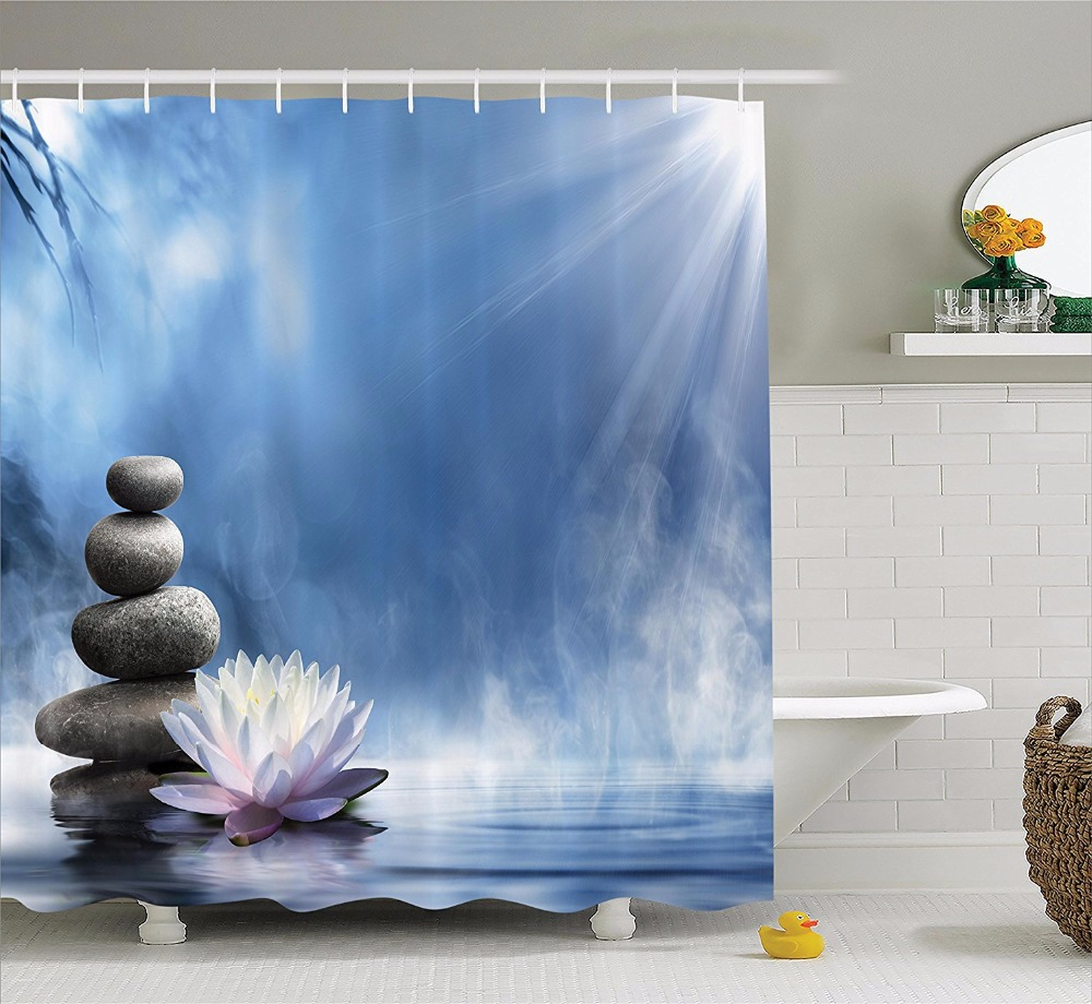 High Quality Arts Shower Curtains Purity Of The Zen Massage Magic ...