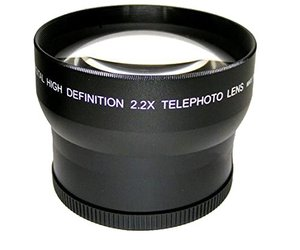 Image 2 - 2.2x הגדלה עדשת טלה עבור Panasonic LUMIX FZ1000 Mark II DMC FZ1000 מצלמה/HC VX1 VX1 HC VXF1 VXF1 למצלמות