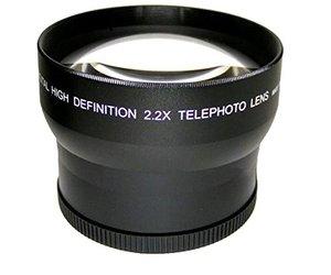Image 2 - 2.2x magnification Telephoto Lens for Panasonic LUMIX FZ1000 Mark II DMC FZ1000 Camera / HC VX1 VX1 HC VXF1 VXF1 Camcorder