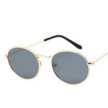 Owalne kobiety okulary przeciwsłoneczne okulary luksusowa marka jasne okulary przeciwsłoneczne modne okulary ze stopu dla dorosłych okulary czarne okulary tanie tanio UV400 WOMEN Akrylowe 39mm 49mm yueyaolao