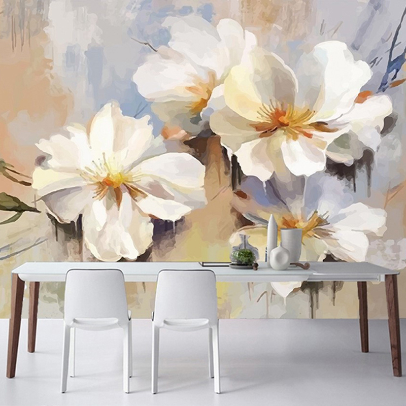 Paining 3D wallpapers 3d wall murals Eco-friendly Durable Non-woven fabric Bedroom Background Wall 3d stereoscopic wall papers