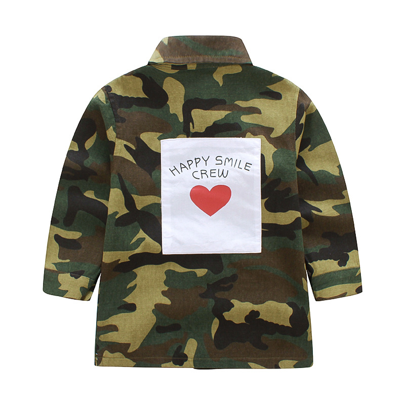 Baby Girl Coats And Jackets Camouflage Girls Winter -5730