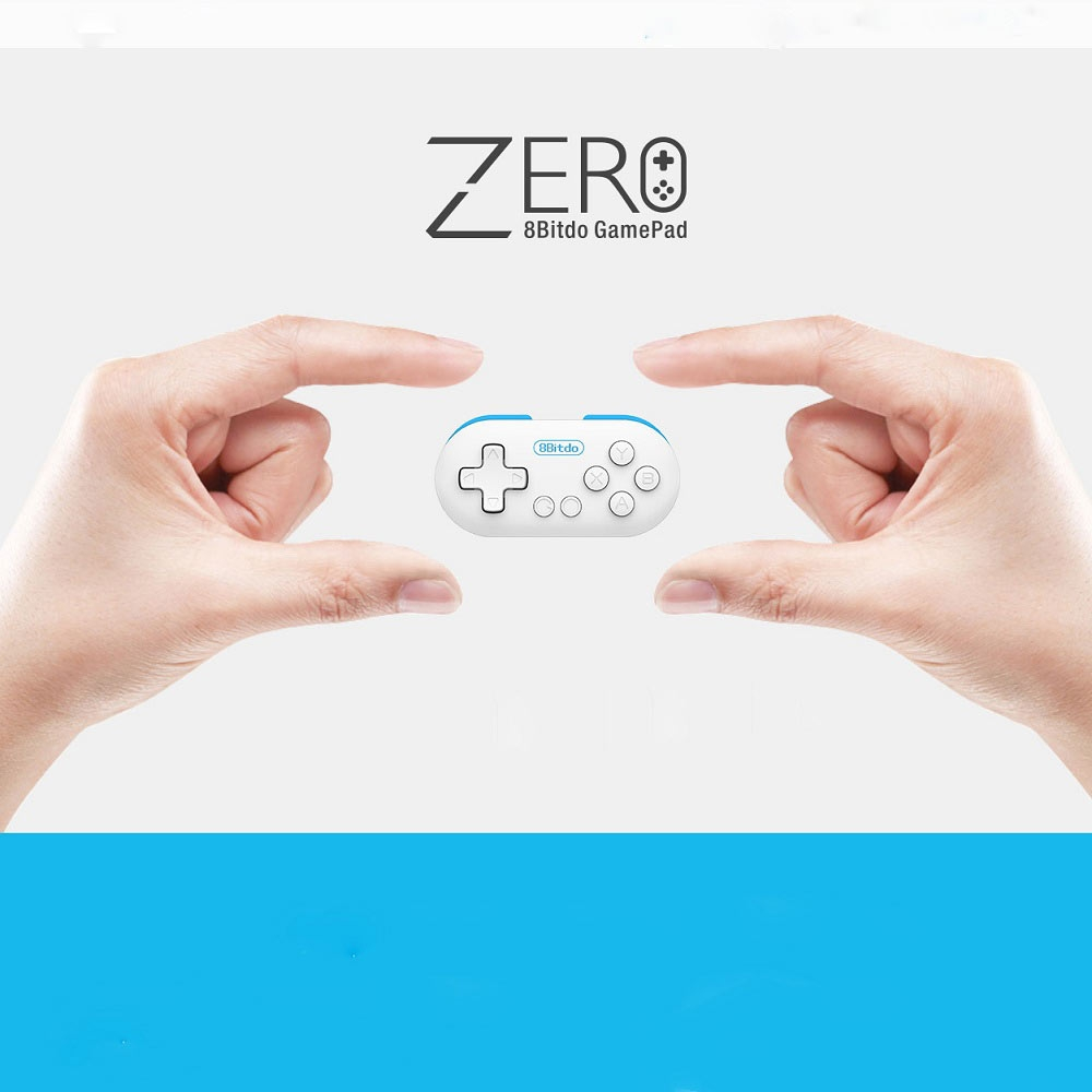 8Bitdo Zero Controller Gamepad Joystick Selfie Mini Bluetooth V2.1 Gamepad with Remote Shutter for Game Android Window Mac OS