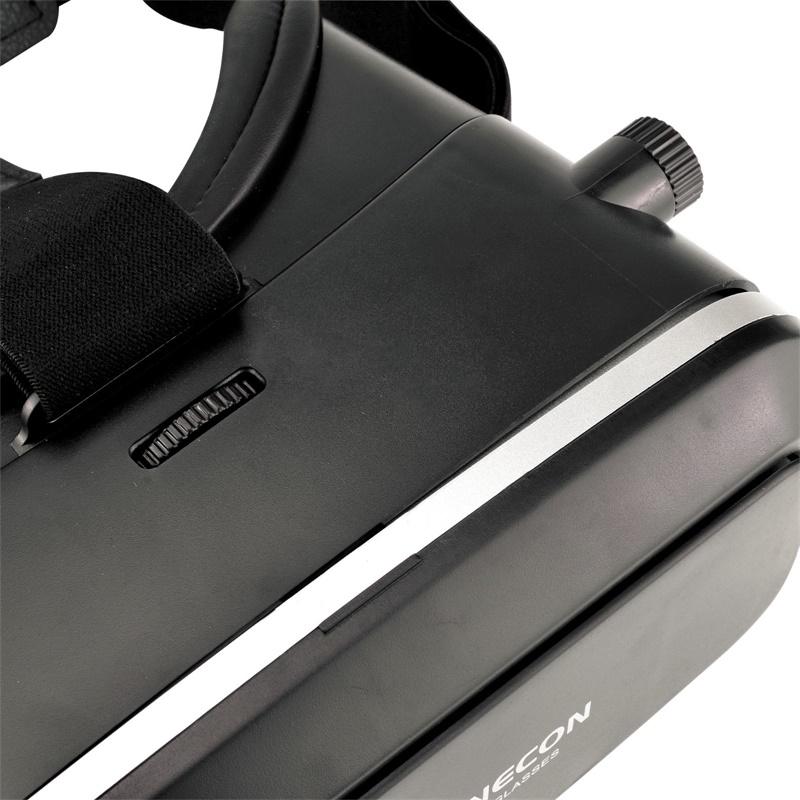18 Original Shinecon VR Pro Virtual Reality 3D Glasses Headset VRBOX Head Mount Google Cardboard Helmet For Smartphone 4-6inch 25
