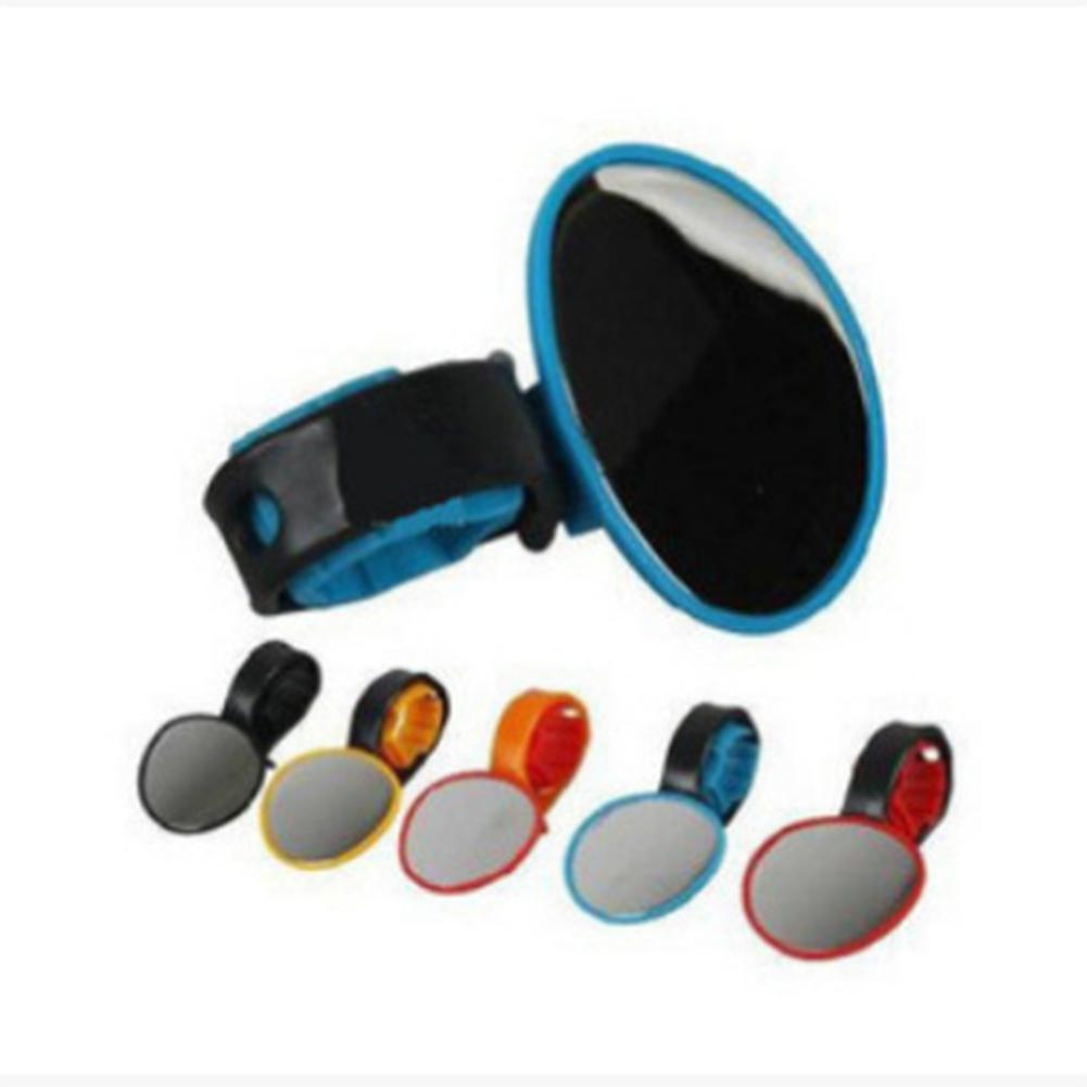 None Bicycle Mountain Bikes Rear View Mirror 360 Degree Rotating Mirror Cycling Equipment