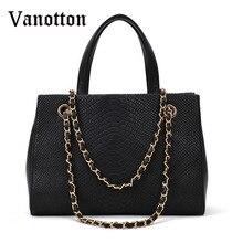 2016 new women's fashion brand PU leather handbag trend alligator patent handbag ladies large shoulder bag