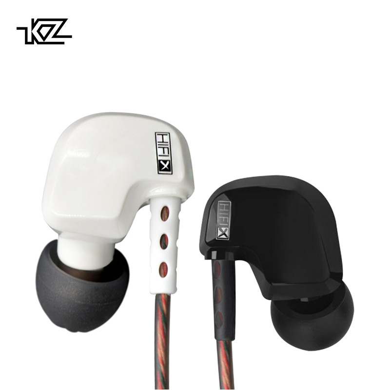 KZ HD9 EDR1 Earphones HiFi Sport Earbuds Copper Driver Earhook ear type Headphones In Ear Earphone For Running With Microphone kz hd9 sport headphone copper driver original hifi sport earphones in ear earbuds for running with microphone game headset