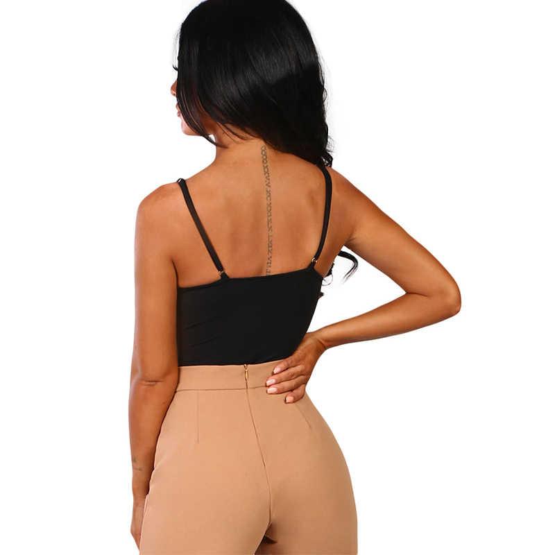 LIVA девушка черная Сексуальная кружевная женская комбинация без рукавов для женщины 2019 лето белая Соблазнительная гамак облегающие костюмы женские топы