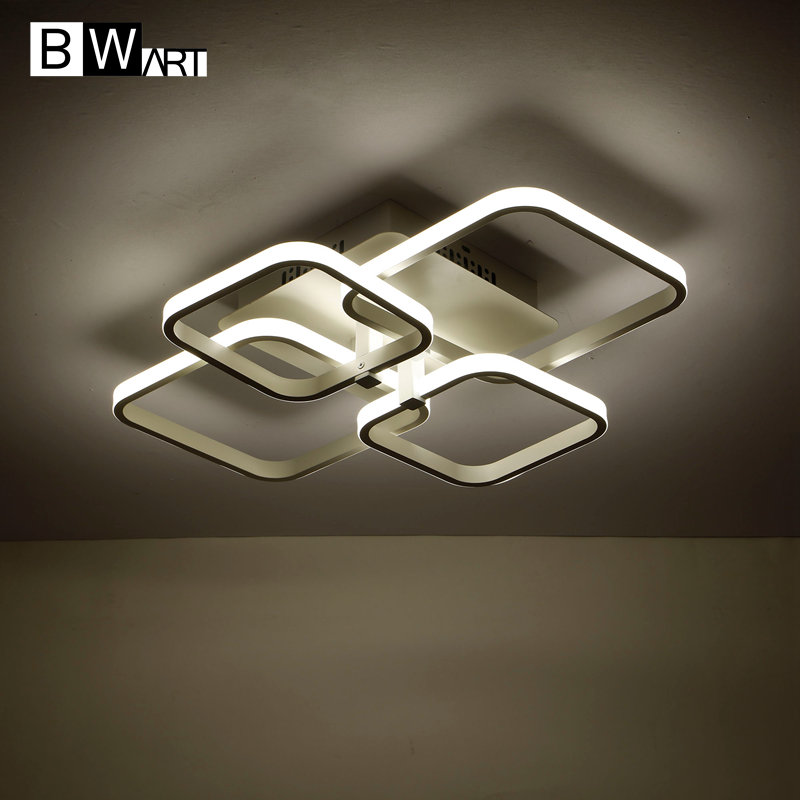 BWART Modern LED chandelier Luxury Living Room led lamp frames set chandelier Lighting Fixtures dimmable lustre