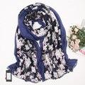 2016 новый мори девушка женские зимние сверхдальние двойной слой марли шелка весной и осенью шарф мыс двойной