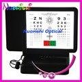 W3045 двухстороннего чтение письма и числа из светодиодов с подсветкой зрения вблизи Amsler сетки острота зрения тестовой таблицы низкой