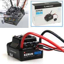 Hobbywing EZRUN MAX6 160A Waterproof Brushless ESC for 1/6 Scale RC Car