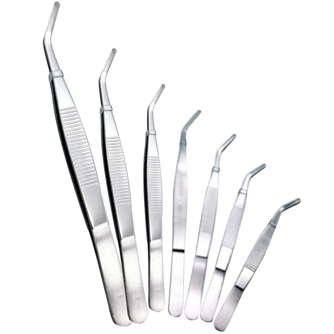 Ellenbogen Pinzette Edelstahl 12,5 Cm/14 Cm/16 Cm/18 Cm/20 Cm/25 Cm/30 Cm Clear Clip Werkzeug Medical Reparatur Werkzeuge Top Wassermelonen Werkzeuge Zangen