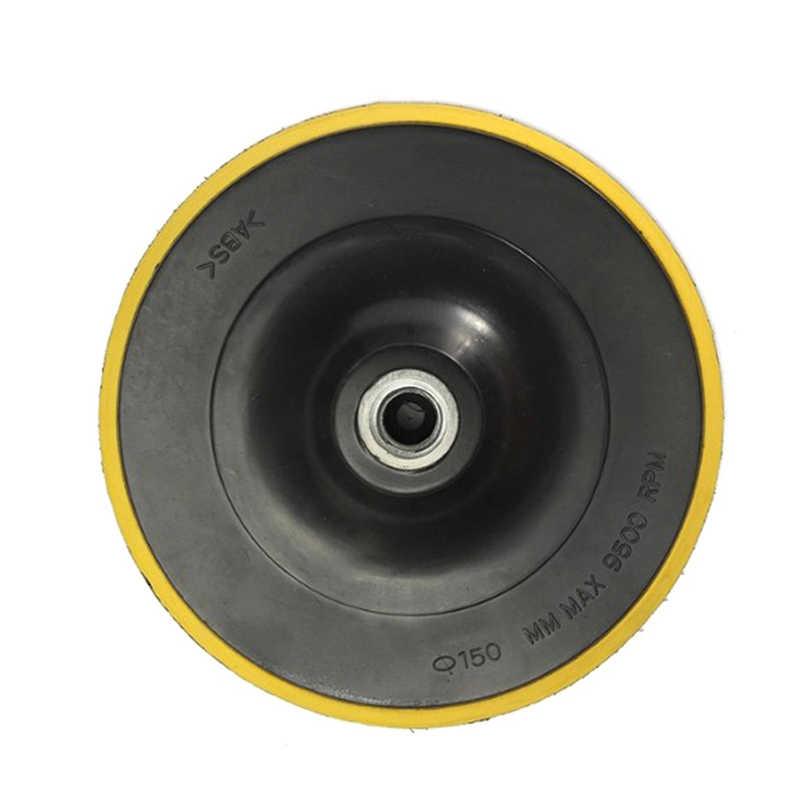 1 шт. угловой шлифовальный круг шлифовальный бумажный диск Авто полировальный станок для подложка), полировальная машинка для автомобилей с эксцентриковым, капота Dia.80/100/150 мм