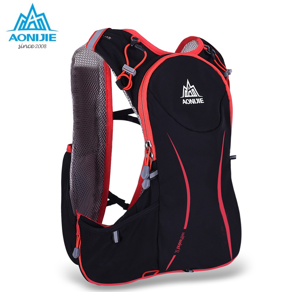 AONIJIE L Outdoor Sport Running Backpack Marathon Trail Running Hydration Vest Pack
