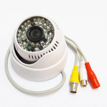1/3″ Sony 600TVL CCD 48IR Leds Color CCTV Dome Security Camera with Audio wide angle 1080p lens